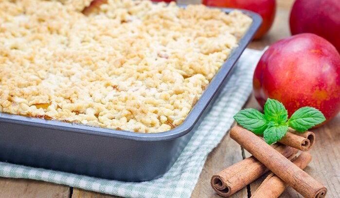 Apple Crumb Cake-Wholesome Eating in Recovery