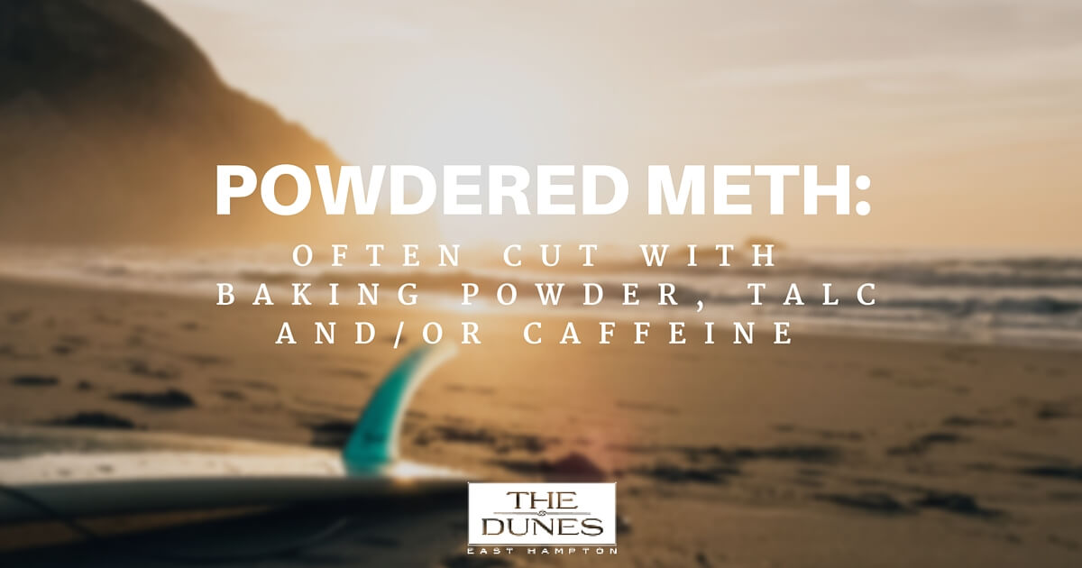 The Dangers of an Adulterated Drug Supply, Meth cut with MSM