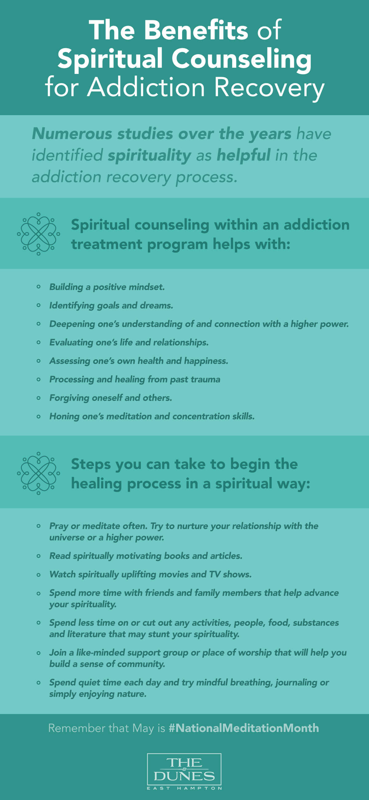 Benefits of Spiritual Counseling - The Dunes East Hampton